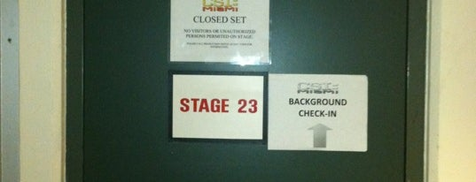 CSI: Miami set- Sound Stage 23 is one of My FAV Hot Spots.
