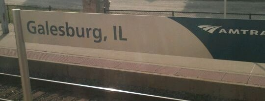 Amtrak - Galesburg (GBB) is one of OUT OF TTTTOWN.