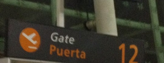 Puerta/Gate 12 is one of Posti che sono piaciuti a Gaston.
