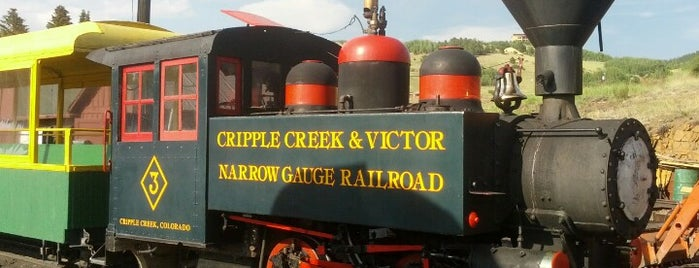 Cripple Creek & Victor Narrow Gauge Railroad is one of Colorado Tourism.
