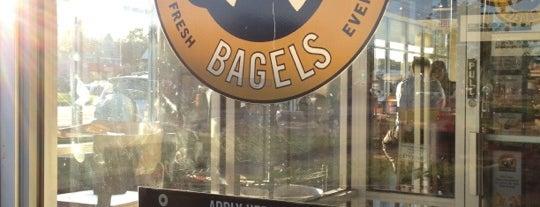 Einstein Bros Bagels is one of Locais curtidos por Derrick.