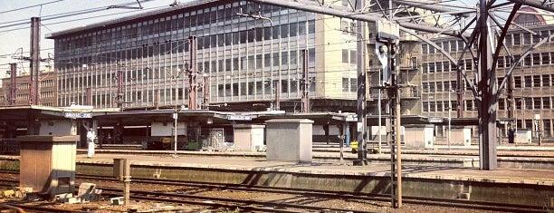 Gare de Bruxelles-Midi (ZYR) is one of Follow the Orient Express — Şark Ekspresi.