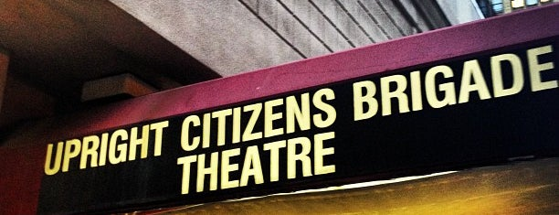 Upright Citizens Brigade Theatre is one of Lugares guardados de Tiziana.