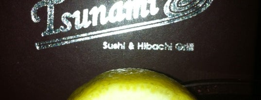 Tsunami Sushi & Hibachi Grill is one of yummy eats.