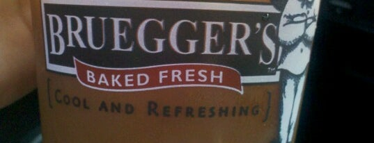 Bruegger's Bagels is one of Cinci Work Food.