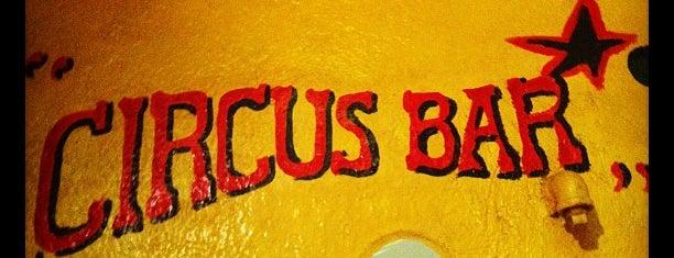 Circus Bar is one of Lugares favoritos de Vanessa.