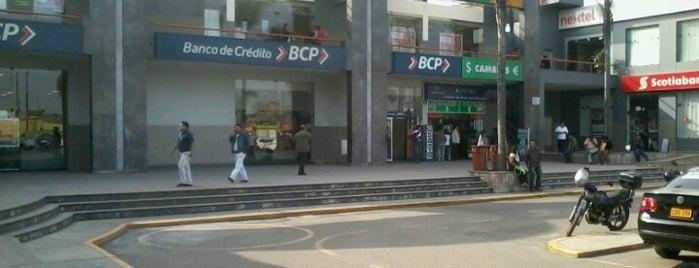 Centro Bancario Santa Anita is one of Tempat yang Disukai Jamhil.