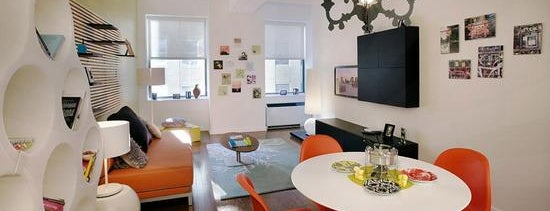 99 John St Lofts is one of (Uber-cool apartments) in Manhattan.