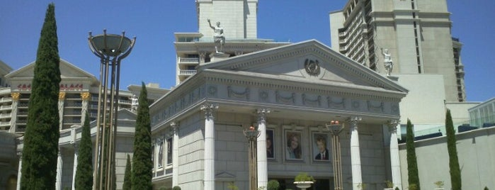 Caesars Palace Hotel & Casino is one of Las Vegas, NV.