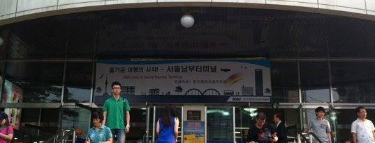 ソウル南部ターミナル is one of 서천.