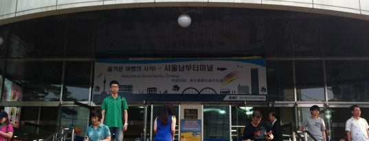 Seoul Nambu Bus Terminal is one of 서천.