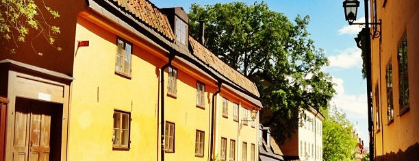 Södermalm is one of Stockholm.