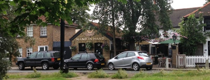 Hand in Hand is one of place to try in London.