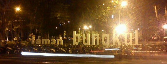 Taman Bungkul is one of Surabaya.