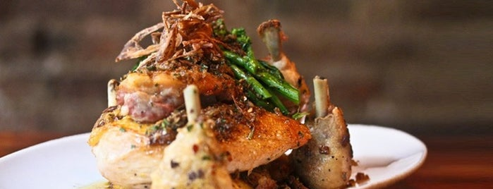 Restaurant Marc Forgione is one of New York City.