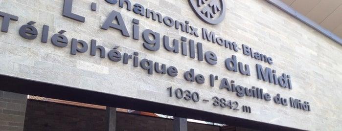 Téléphérique de l'Aiguille du Midi is one of Chamonix Transport.