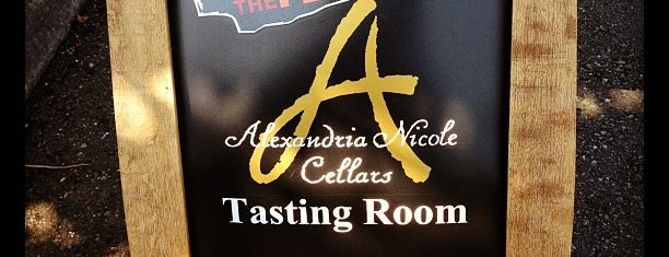 Alexandria Nicole Cellars is one of Woodinville.