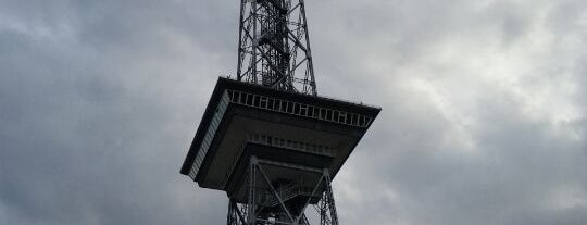 Berliner Funkturm is one of StorefrontSticker #4sqCities: Berlin.