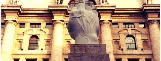 Piazza degli Affari is one of 101Cose da fare a Milano almeno 1 volta nella vita.