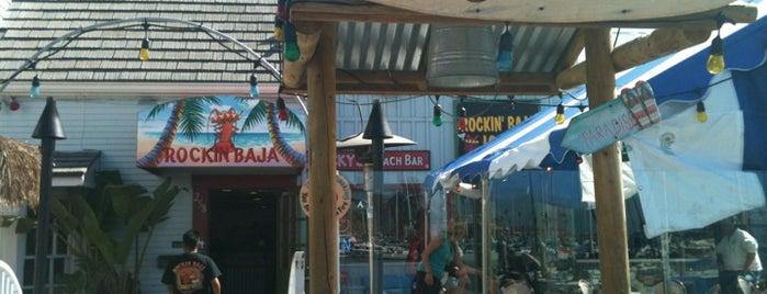 Rockin' Baja Lobster - Oceanside Harbor is one of Tempat yang Disukai Blondie.