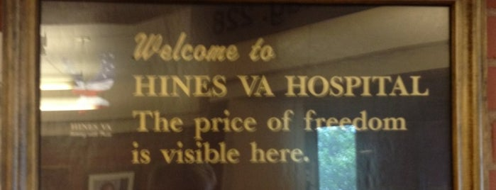 Edward Hines, Jr. Veterans Hospital is one of al's Liked Places.