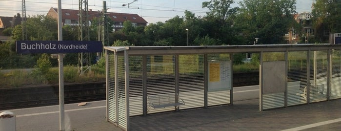Bahnhof Buchholz (Nordheide) is one of Bahnhöfe besucht !.