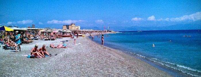 Enidrio Beach is one of Rhodes.