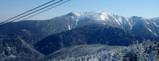 Cannon Mountain Ski Area is one of Orte, die Heidi gefallen.