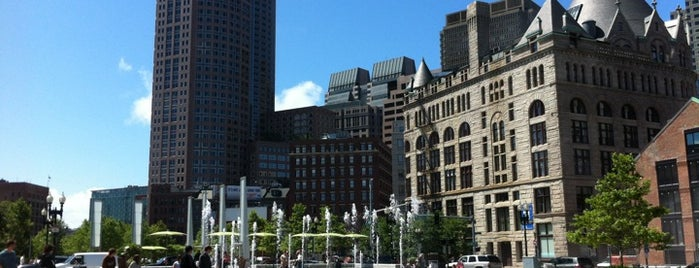 The Rose Kennedy Greenway is one of Orte, die Irene gefallen.