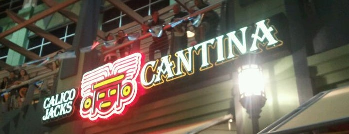 Calico Jacks Cantina is one of Arthur's Fun Places to Eat! ☆☆☆☆.