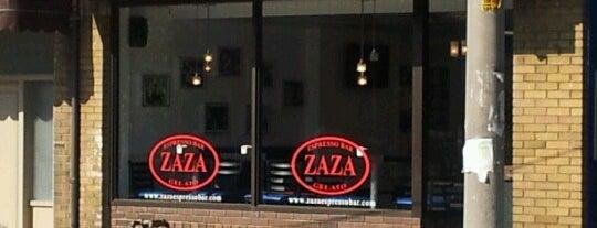 Zaza Espresso Bar & Gelato is one of Indie Coffee Shops in Toronto.