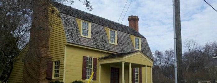 Joel Lane Museum House is one of Welcome to Raleighwood! #visitUS.