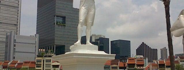 Sir Stamford Raffles Statue (Raffles' Landing Site) is one of Singapore/シンガポール.