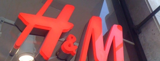 H&M is one of Barcelona.