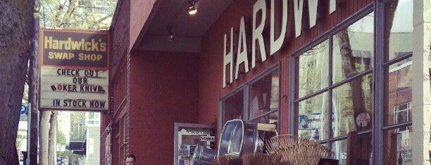 Hardwick's Hardware is one of Best of Seattle.