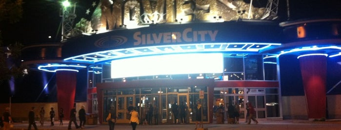 SilverCity St. Vital Cinemas is one of Tempat yang Disukai Jim.