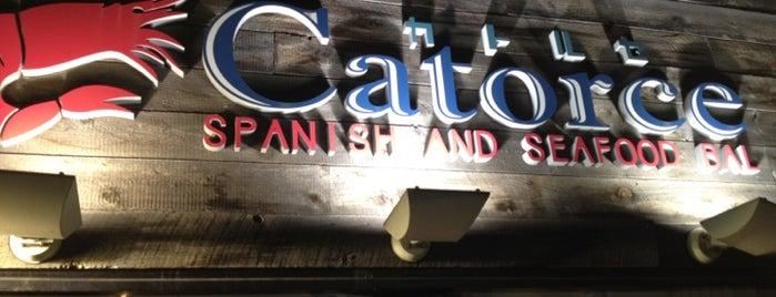 CATORCE is one of ウーバーイーツで食べたみせ.