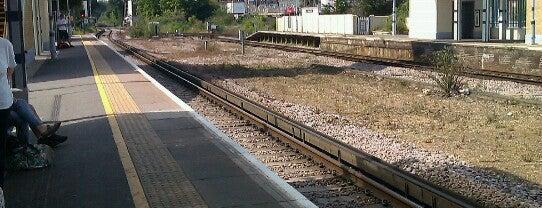 Canterbury West Railway Station (CBW) is one of mamma.