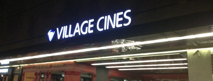 Village Cines is one of Tempat yang Disukai Sabrina.