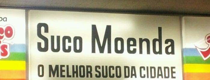 Sucos Moenda is one of Heloisa'nın Kaydettiği Mekanlar.