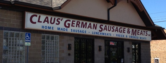 Claus German Sausage and Meats is one of Lori's Indy Favorites.