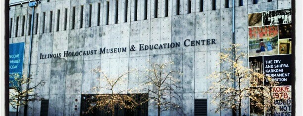 Illinois Holocaust Museum & Education Center is one of Museums, Art, Field, Science, etc..