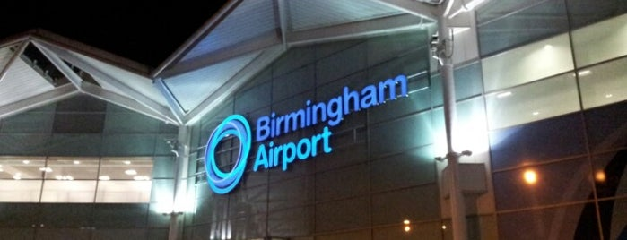 Birmingham Airport (BHX) is one of Airports.