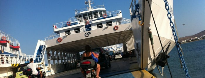 Ferry Boat Παλούκια - Πέραμα is one of Locais curtidos por maria.