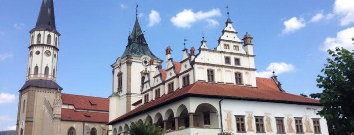 Bazilika sv. Jakuba is one of UNESCO World Heritage Sites in Eastern Europe.
