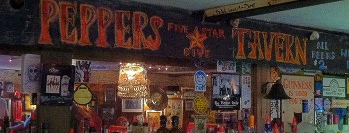 Peppers Tavern is one of Cece's Places-2.