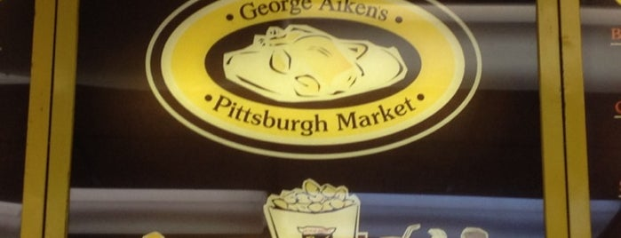 George S. Aiken Co. is one of BEST PLACES TO GET PIZZA IN PITTSBURGH!.