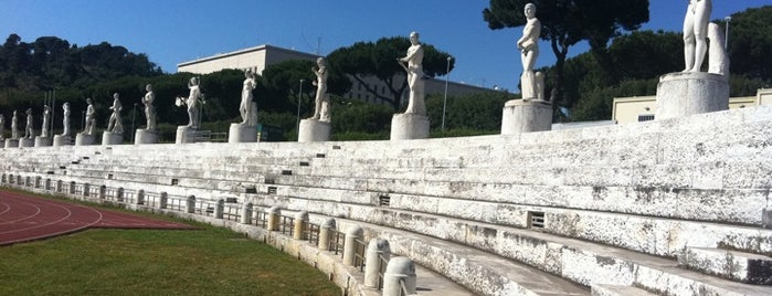 Stadio dei Marmi is one of ZeroGuide • Roma.