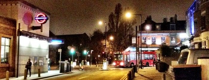 Clapham North London Underground Station is one of Underground Stations in London.