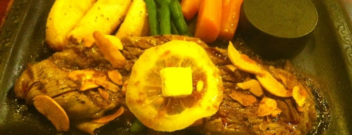 ステーキレストランわかき is one of ぎゅ↪︎ん 🐾'ın Kaydettiği Mekanlar.